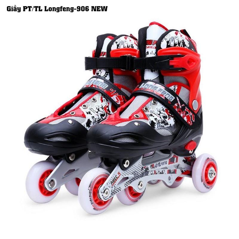 Giầy PT/TL Longfeng-906 New-Đỏ đen-S