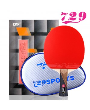 Vợt bóng bàn 729-Cacbon/Sợi-VERY 6*