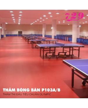 Thảm bóng bàn 729-P103A/B (14*1.8*4.5mm)